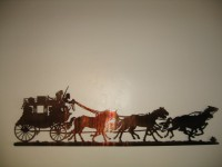 Stagecoach Scene - Product Image