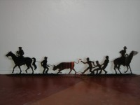 Team Roping Scene - Product Image